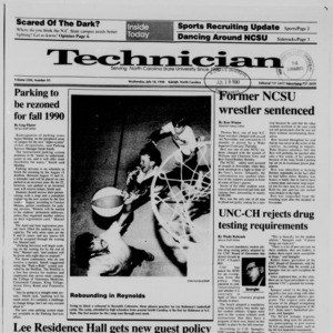 Technician, Vol. 71 No. 93 [95], July 18, 1990