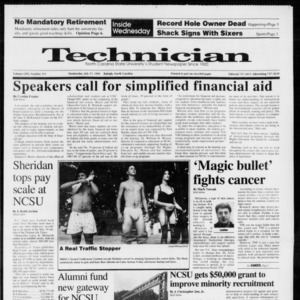Technician, Vol. 72 No. 111, July 17, 1991
