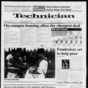 Technician, Vol. 72 No. 12, September 18, 1991