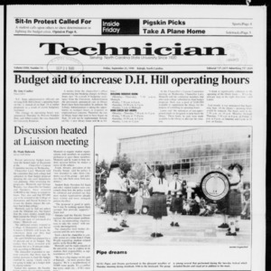 Technician, Vol. 72 No. 13, September 21, 1990