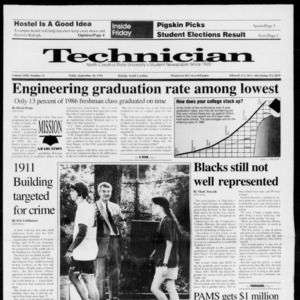 Technician, Vol. 72 No. 13, September 20, 1991
