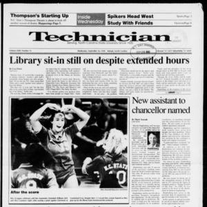Technician, Vol. 72 No. 15, September 26, 1990