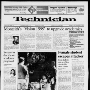 Technician, Vol. 72 No. 18, October 2, 1991