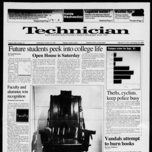 Technician, Vol. 72 No. 23, October 16, 1991