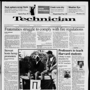 Technician, Vol. 72 No. 32, November 6, 1991