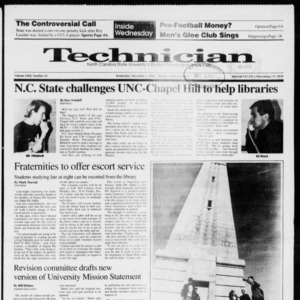 Technician, Vol. 72 No. 42, December 5, 1990