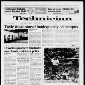Technician, Vol. 72 No. 64, February 26, 1992