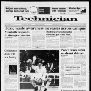 Technician, Vol. 72 No. 65, February 28, 1992