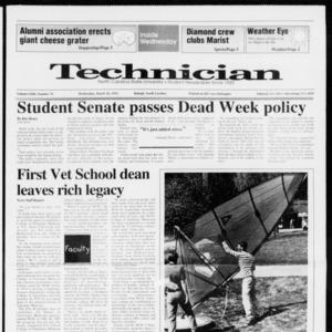 Technician, Vol. 72 No. 70, March 18, 1992