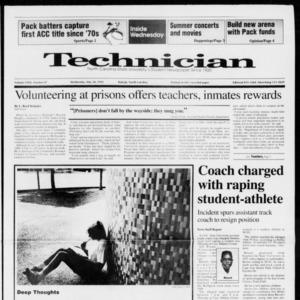 Technician, Vol. 72 No. 87, May 20, 1992