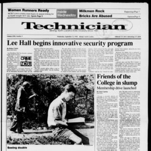 Technician, Vol. 72 No. 9, September 12, 1990
