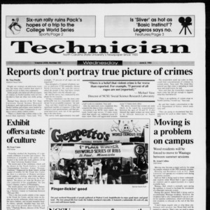 Technician, Vol. 73 No. 101, June 2, 1993