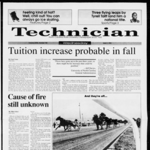 Technician, Vol. 73 No. 102, June 9, 1993