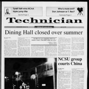 Technician, Vol. 73 No. 103, June 16, 1993