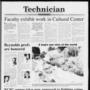 Technician, Vol. 73 No. 109, July 21, 1993