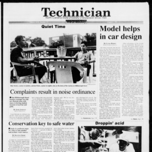 Technician, Vol. 73 No. 111, August 4, 1993