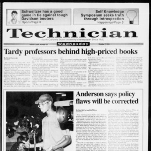 Technician, Vol. 73 No. 24, October 7, 1992