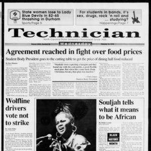 Technician, Vol. 73 No. 66, February 10, 1993