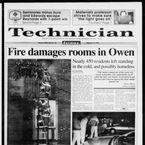 Technician, Vol. 73 No. 70, February 19, 1993