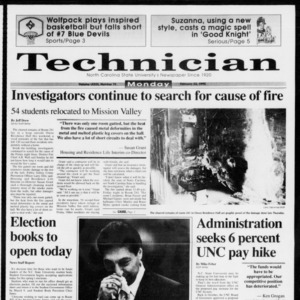 Technician, Vol. 73 No. 71, February 22, 1993