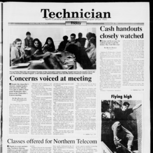 Technician, Vol. 74 No. 13, September 24, 1993