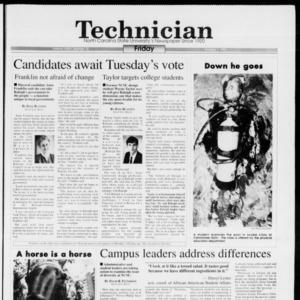 Technician, Vol. 74 No. 16, October 1, 1993