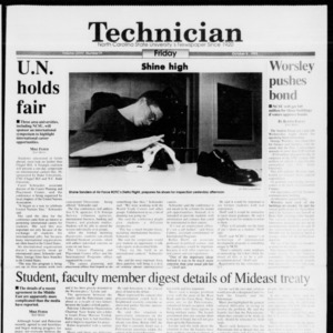 Technician, Vol. 74 No. 19, October 8, 1993