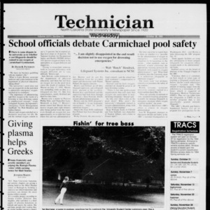 Technician, Vol. 74 No. 23, October 20, 1993