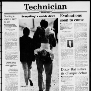 Technician, Vol. 74 No. 25, October 25, 1993
