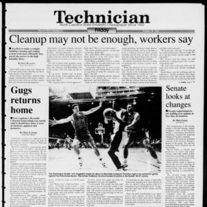 Technician, Vol. 74 No. 27, October 29, 1993