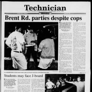 Technician, Vol. 74 No. 3, August 30, 1993