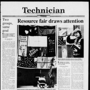 Technician, Vol. 74 No. 40, December 3, 1993