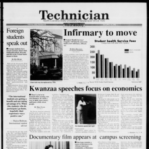 Technician, Vol. 74 No. 42, December 8, 1993