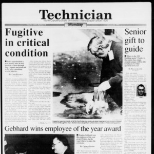 Technician, Vol. 74 No. 48, January 24, 1994