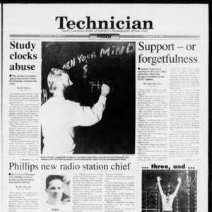Technician, Vol. 74 No. 59, February 18, 1994
