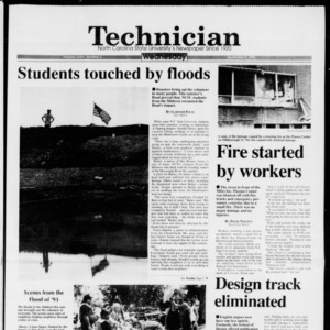 Technician, Vol. 74 No. 6, September 8, 1993
