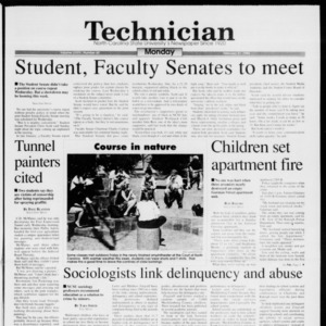 Technician, Vol. 74 No. 60, February 21, 1994