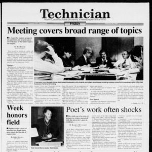 Technician, Vol. 74 No. 62, February 25, 1994