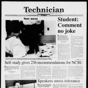 Technician, Vol. 74 No. 65, March 4, 1994