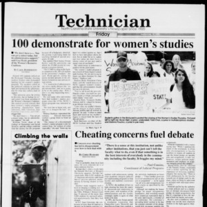 Technician, Vol. 74 No. 7, September 10, 1993
