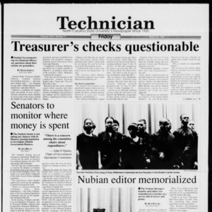 Technician, Vol. 74 No. 71, March 25, 1994
