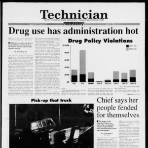 Technician, Vol. 74 No. 78, April 13, 1994