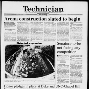 Technician, Vol. 74 No. 8, September 13, 1993