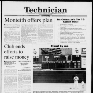 Technician, Vol. 74 No. 80, April 18, 1994