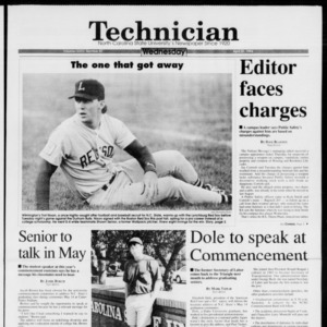 Technician, Vol. 74 No. 81, April 20, 1994