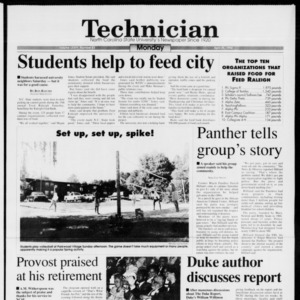 Technician, Vol. 74 No. 83, April 25, 1994