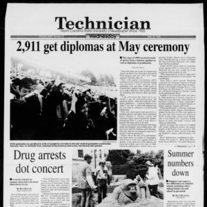 Technician, Vol. 74 No. 87, May 25, 1994