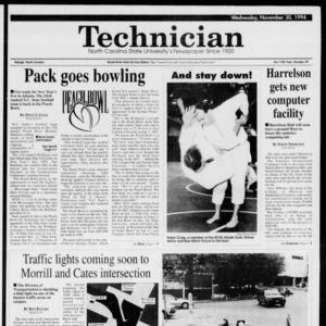 Technician, Vol. 75 No. 39, November 30, 1994
