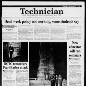 Technician, Vol. 75 No. 41, December 5, 1994