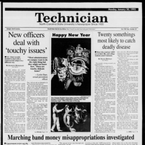 Technician, Vol. 75 No. 52, January 30, 1995